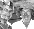 John Joseph Jones with Bob Hawke 1980